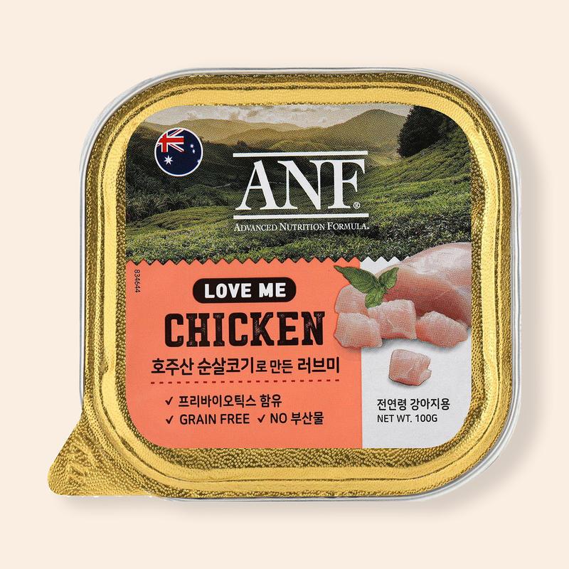 ANF 러브미 닭고기 캔 100g