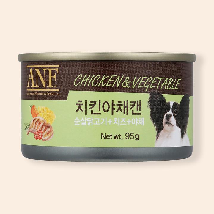 ANF 치킨야채 캔 95g