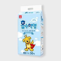 [2+1] 흡수혁명 애견패드 소형 50매