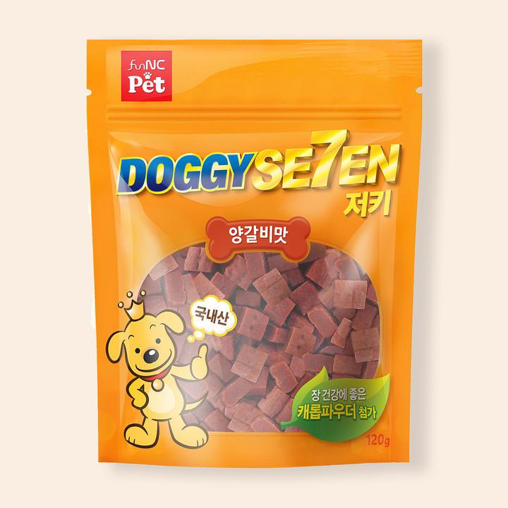도기세븐 저키 양갈비맛 120g