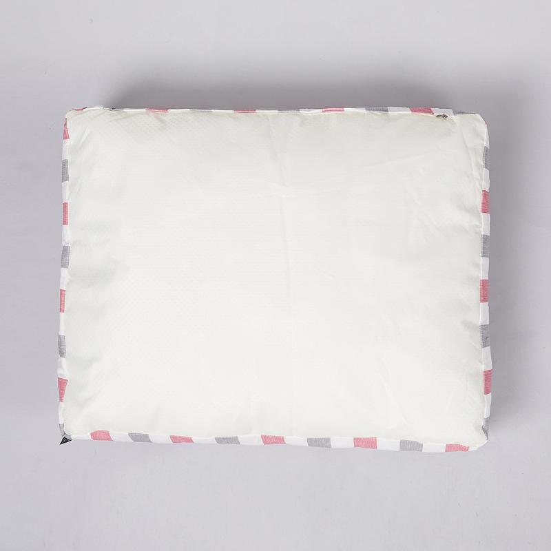 페로가토 스트라이프 사각 방수베드 핑크