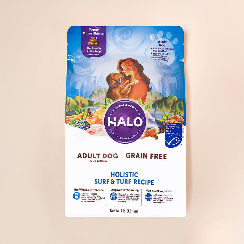 HALO 어덜트 그레인프리 서프&터프 1.81kg