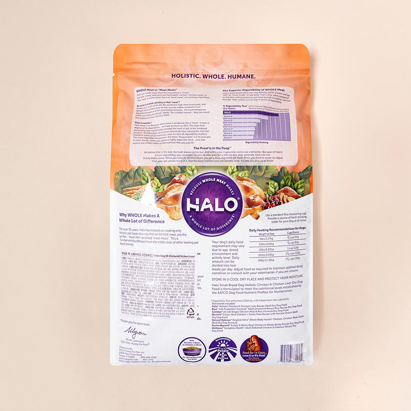 HALO 스몰브리드 치킨&치킨간 4.54kg
