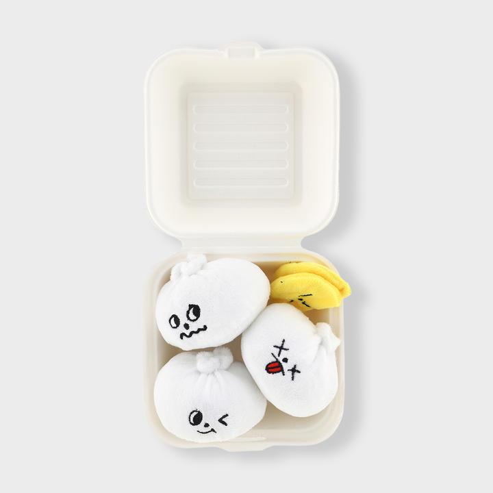 바잇미 두부네 소문난 왕만두와 단무지 장난감