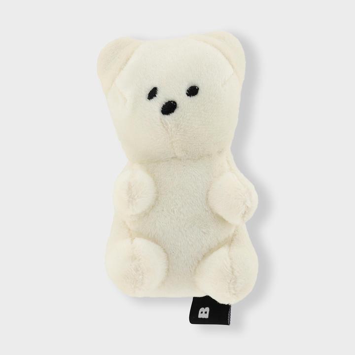 바잇미 삑삑이 젤리곰 아이보리 장난감