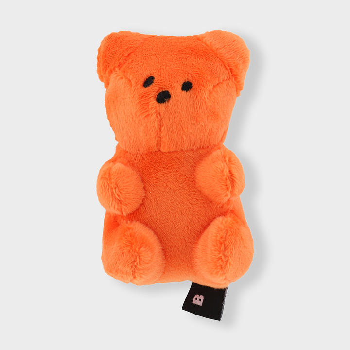 바잇미 삑삑이 젤리곰 오렌지 장난감