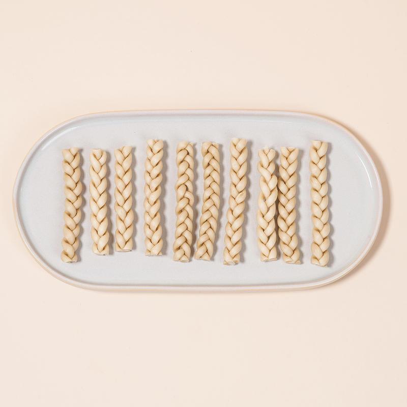 [1+1] 도기맨 무첨가 간식 콜라겐 첨가 껌 트위스트 10개입
