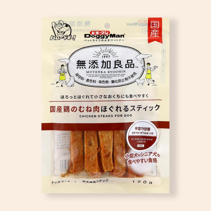 도기맨 무첨가양품 살살 녹는 닭가슴살 스틱 120g