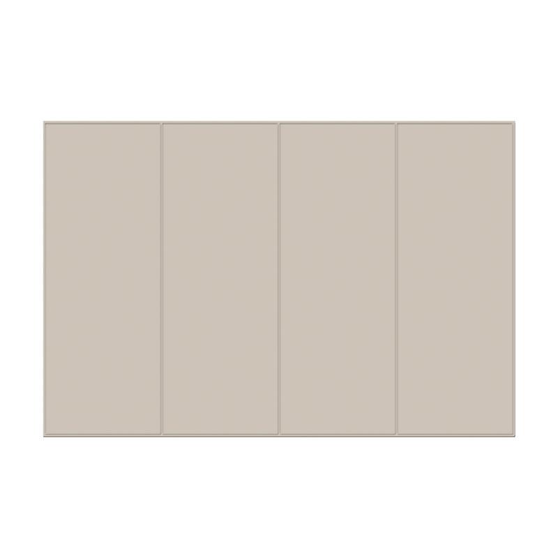 펫노리터 논슬립 폴딩형 애견매트 4단 브라운그레이