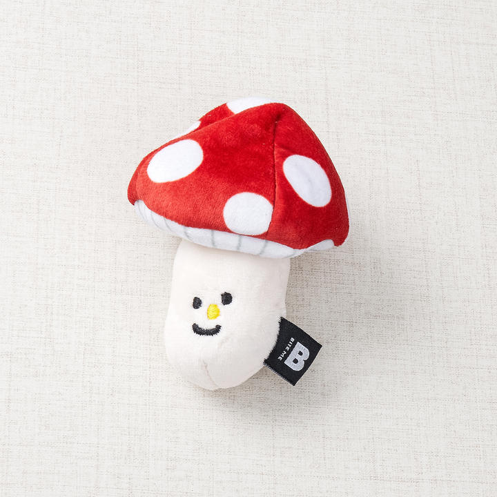 바잇미 버섯 노즈워크 바스락삑삑 장난감