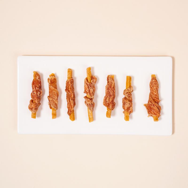 반려양품 고구마 치즈 치킨스틱 210g