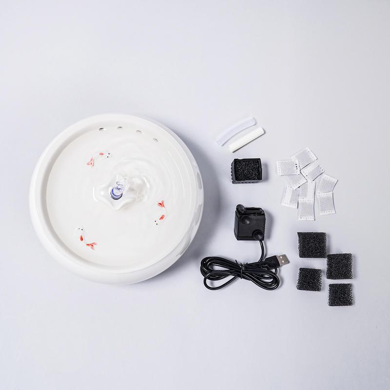 에코펫위드 세라믹 정수기 화이트 1.5L
