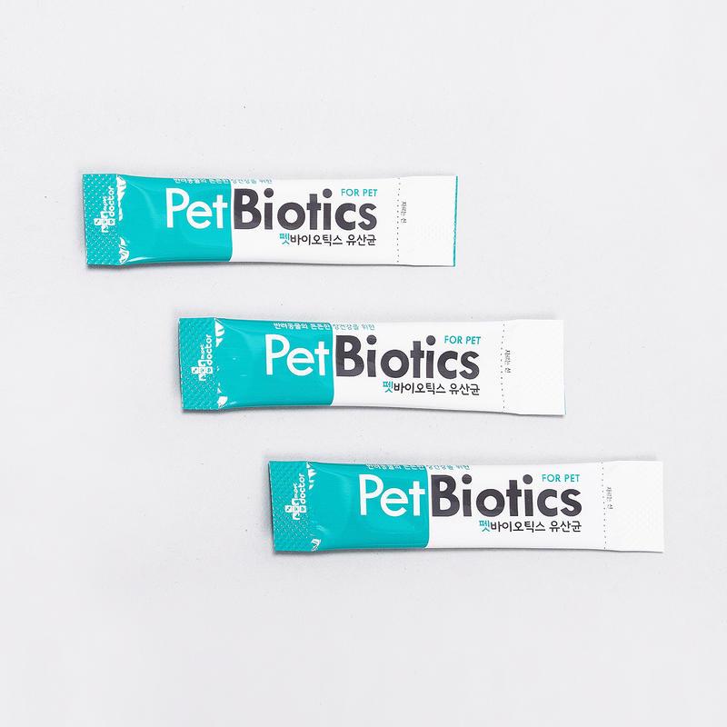 마이펫닥터 펫바이오틱스 유산균 30개입
