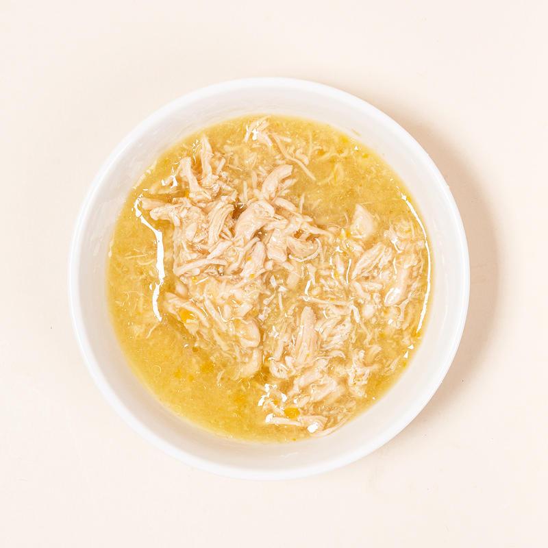 [1+1] 네츄럴코어 치킨 주식 캔 80g