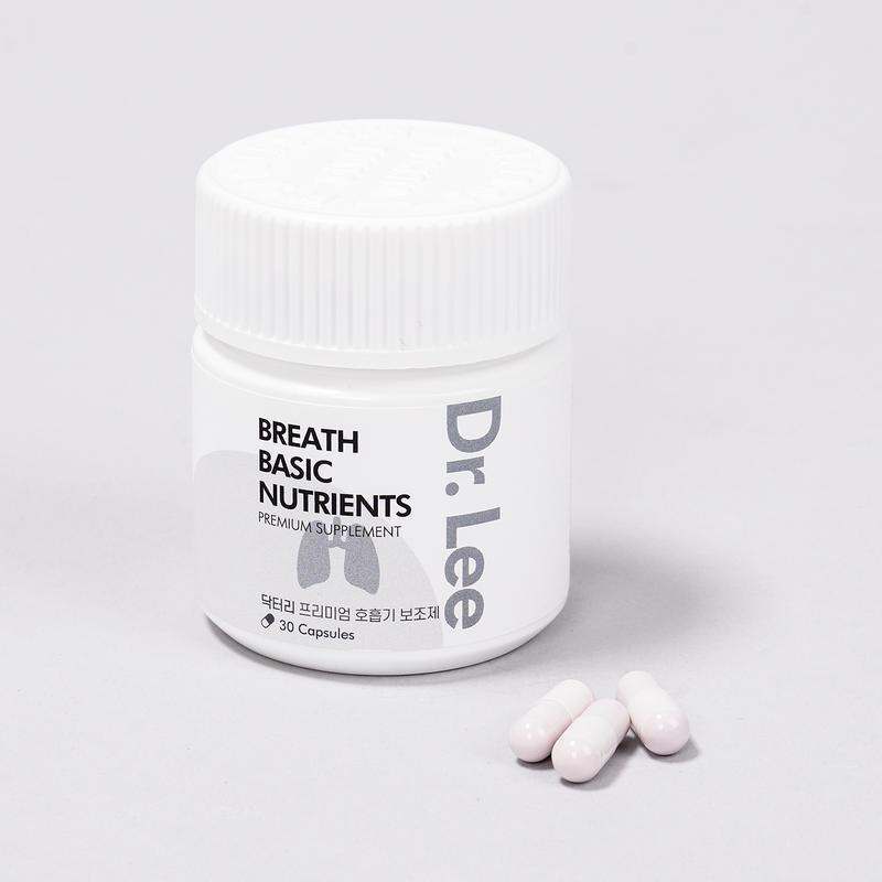 닥터리 프리미엄 영양제 호흡기 건강 영양제 30캡슐