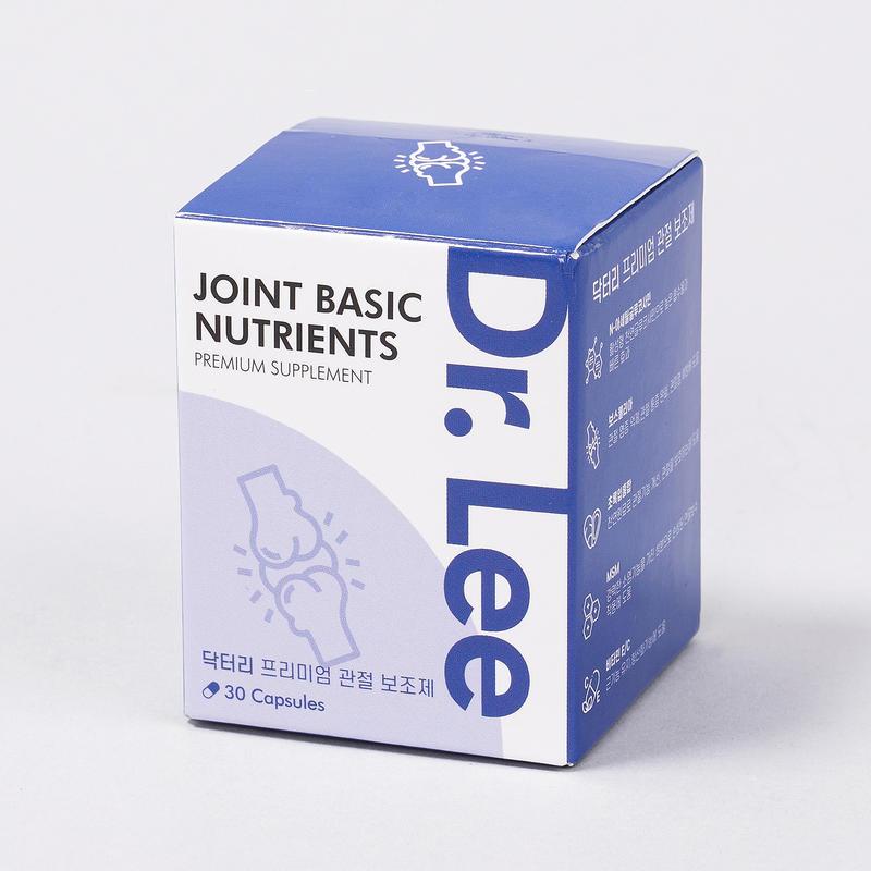 닥터리 프리미엄 영양제 관절 건강 영양제 30캡슐