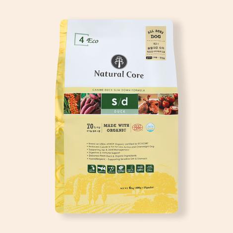 네츄럴코어 유기농 에코 4 오리고기 슬림다운 6kg