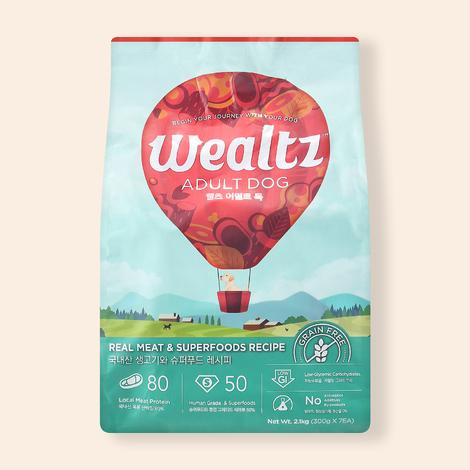 웰츠 어덜트 독 2.1kg