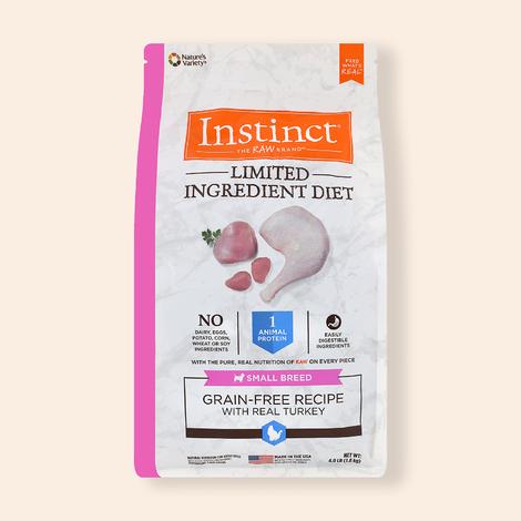 네이처스 버라이어티 인스팅트 LID 칠면조 소형견용 1.8kg