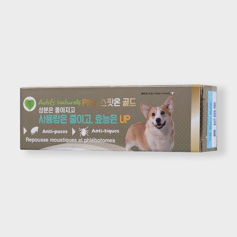 필루 스팟온 골드 천연 해충방지 젤 중형견용 1.5ml