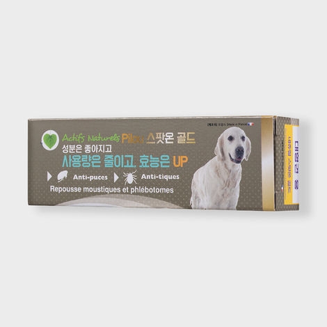 필루 스팟온 골드 천연 해충방지 젤 대형견용 3ml