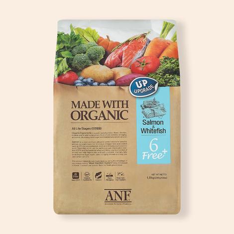 ANF 유기농 6Free 플러스 연어&흰살생선 1.8kg