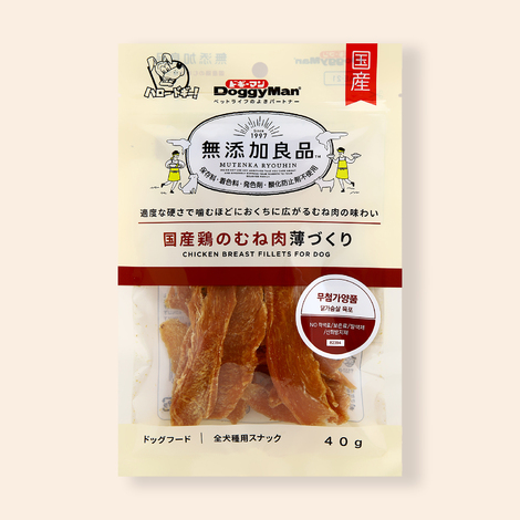 [1+1] 도기맨 무첨가양품 닭가슴살 육포 40g