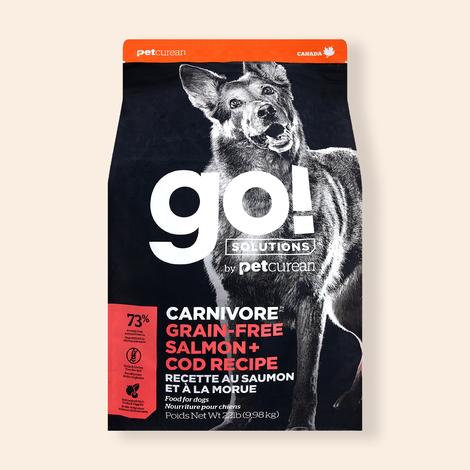 go! 솔루션 카니보 그레인프리 연어&대구 레시피 9.98kg