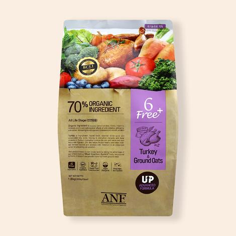 ANF 유기농 6Free 플러스 칠면조&귀리 1.8kg