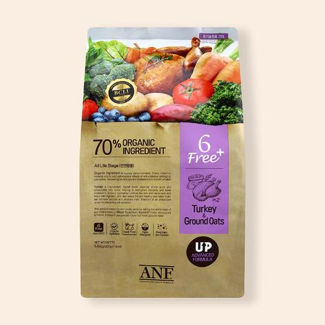 ANF 유기농 6Free 플러스 칠면조&귀리 5.6kg