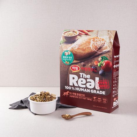 하림펫푸드 더리얼 동결건조 오븐베이크드 닭고기 어덜트 1.6kg