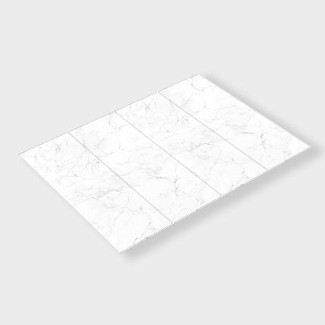 펫노리터 논슬립 항균 폴딩형 애견매트 4단 우유빛깔마블