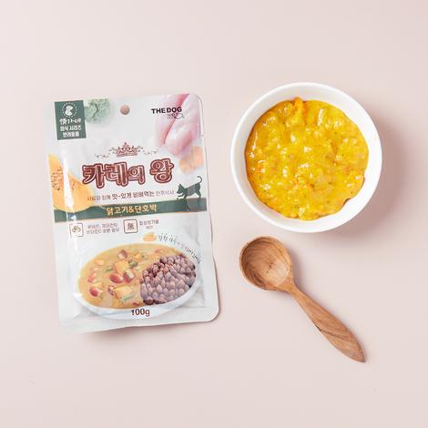 [5+5] 더독 카레의 왕 닭고기&단호박 100g
