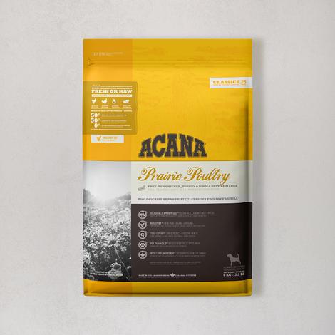 아카나 클래식 프레이리 포트리 독 6kg (오리젠 오리지널 340g 증정)