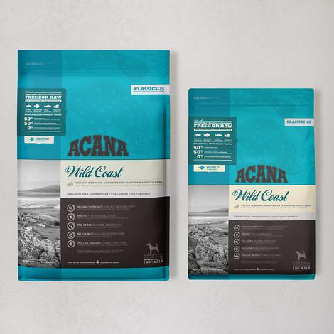 아카나 클래식 와일드 코스트 독 6kg + 2kg (캠핑박스&의자 증정)